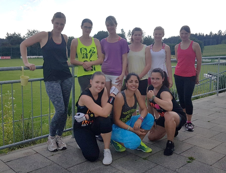 Strong by Zumba Gruppe SV Obergriesbach